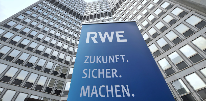 Прибыль RWE снизилась