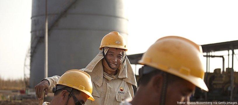 сколько нефти добывают в Китае