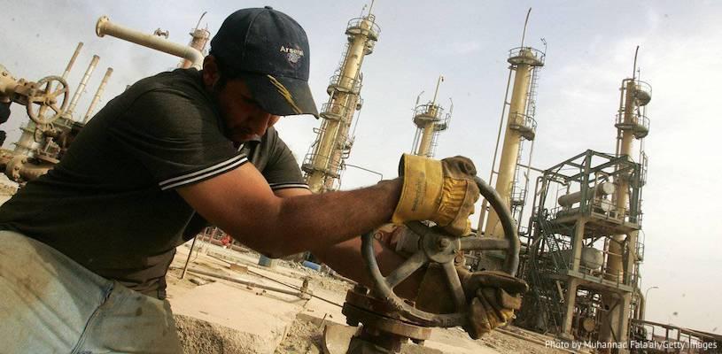сколько нефти добывают в Ираке