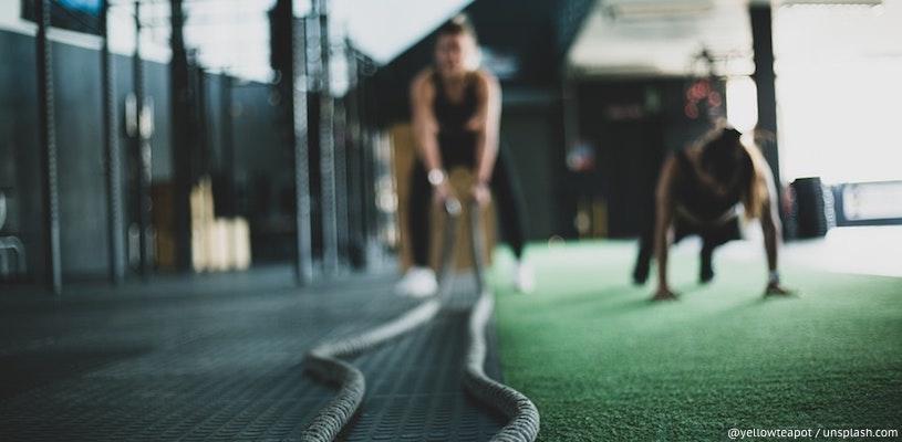 тренировка по фитнесу