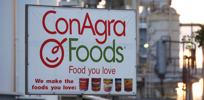 Финансовые результаты ConAgra Brands