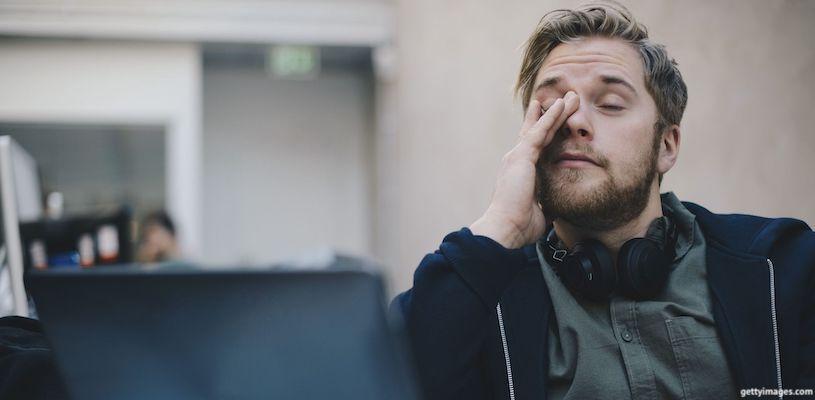 программист устал от работы