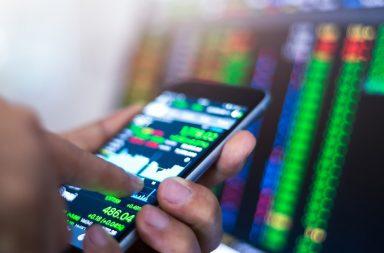 биржевые котировки на телефоне