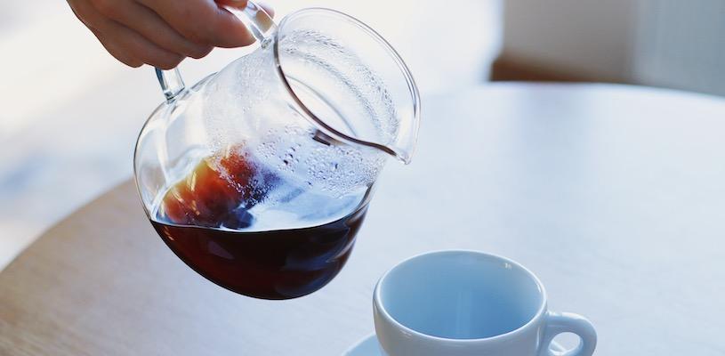 чёрный кофе из даблби
