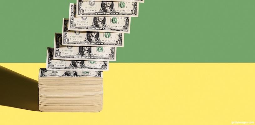 деньги сыпятся