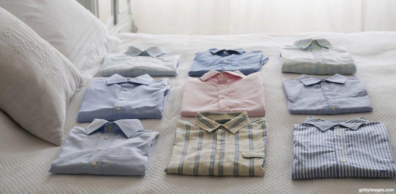 идеально сложенные рубашки
