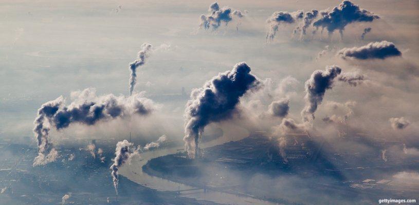 загрязнение заводами атмосферы