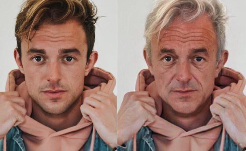 нейросеть старение