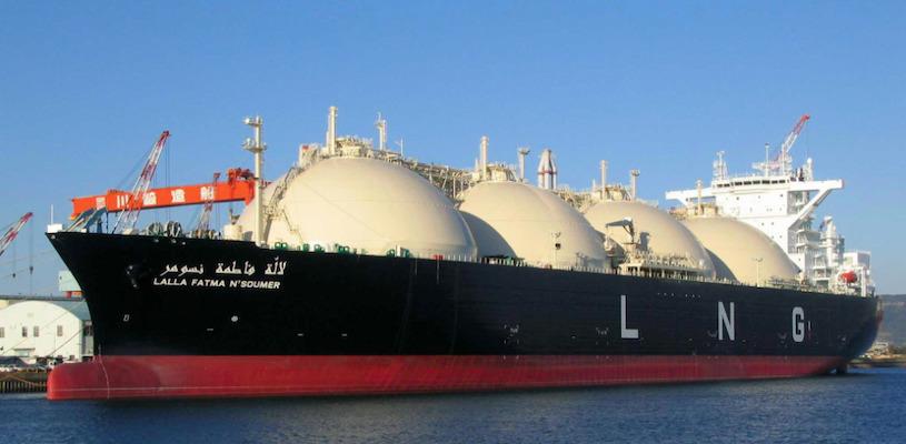 места по добыче газа в мире