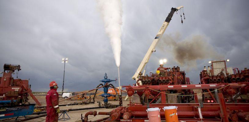 по добыче природного газа лидирует