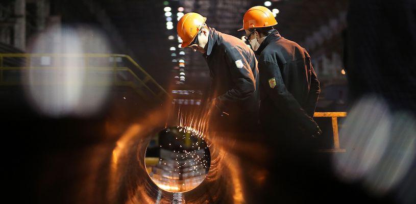 цена акции трубной металлургической компании