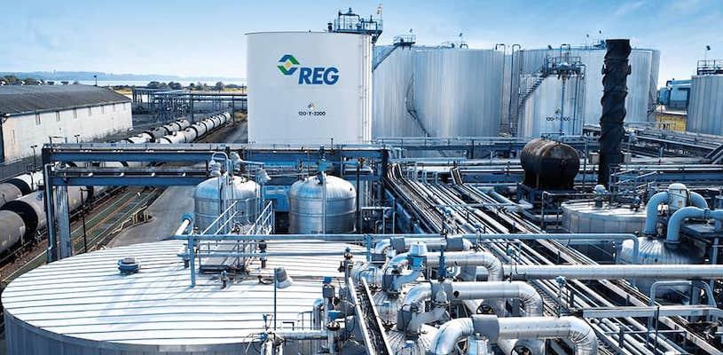 акции Renewable Energy Group Inc